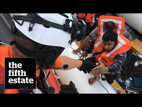 Saved at Sea : Rescuing Migrants in the Mediterranean  - the fifth estate