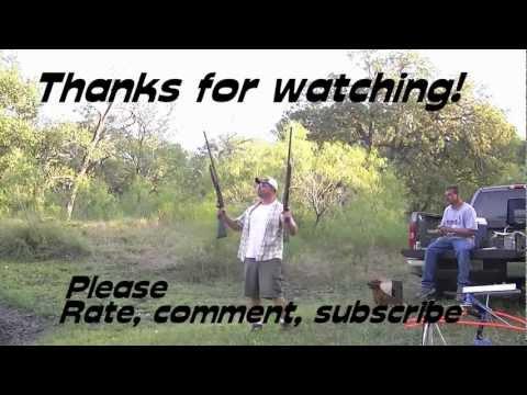 REMINGTON 870 SHOW DOWN- slug drop at about 75 yards