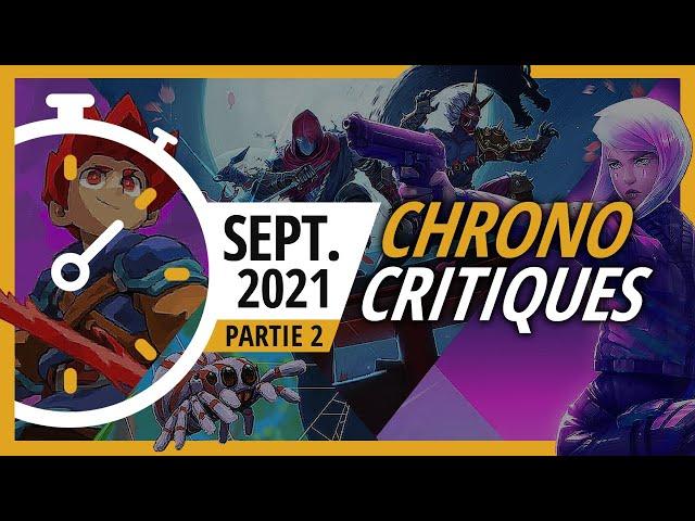 Les jeux indés de septembre 2021 (2/2) | Chrono Critiques