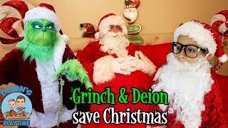 THE GRINCH & DEION SAVE CHRISTMAS | DEION