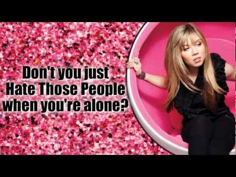 """Jennette McCurdy - """"Don't You Just Hate Those People"""" - Official Lyrics Video"""