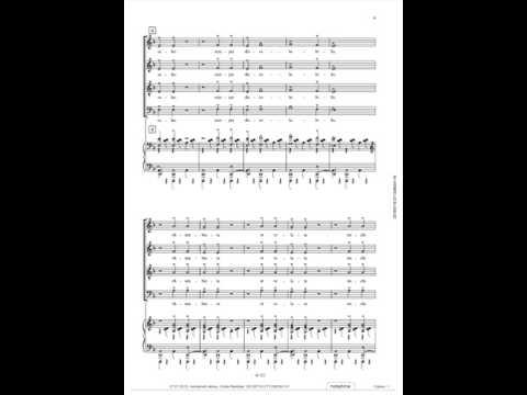 Carl Orff, Carmina Burana, O Fortuna, Voice Over, Alto