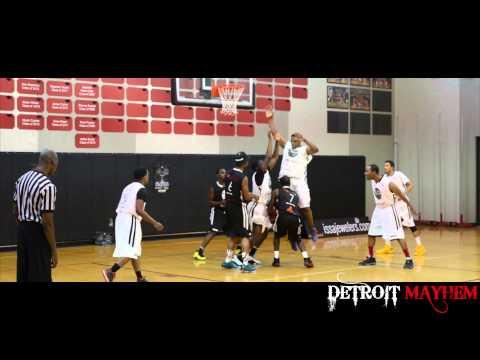 DETROIT MAYHEM  1st Annual Charity Celebrity Basketball Game
