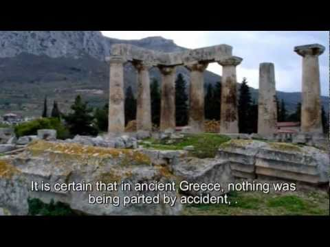 The sacred geography of ancient Greece.