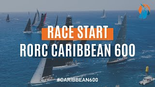 RORC Caribbean 600 2020 | Live Start Replay