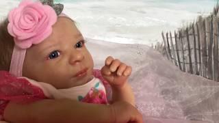 Обложка на видео о НОВАЯ КУКЛА РЕБОРН ДЕВОЧКА АРИЯ ! Reborn baby doll Aria .