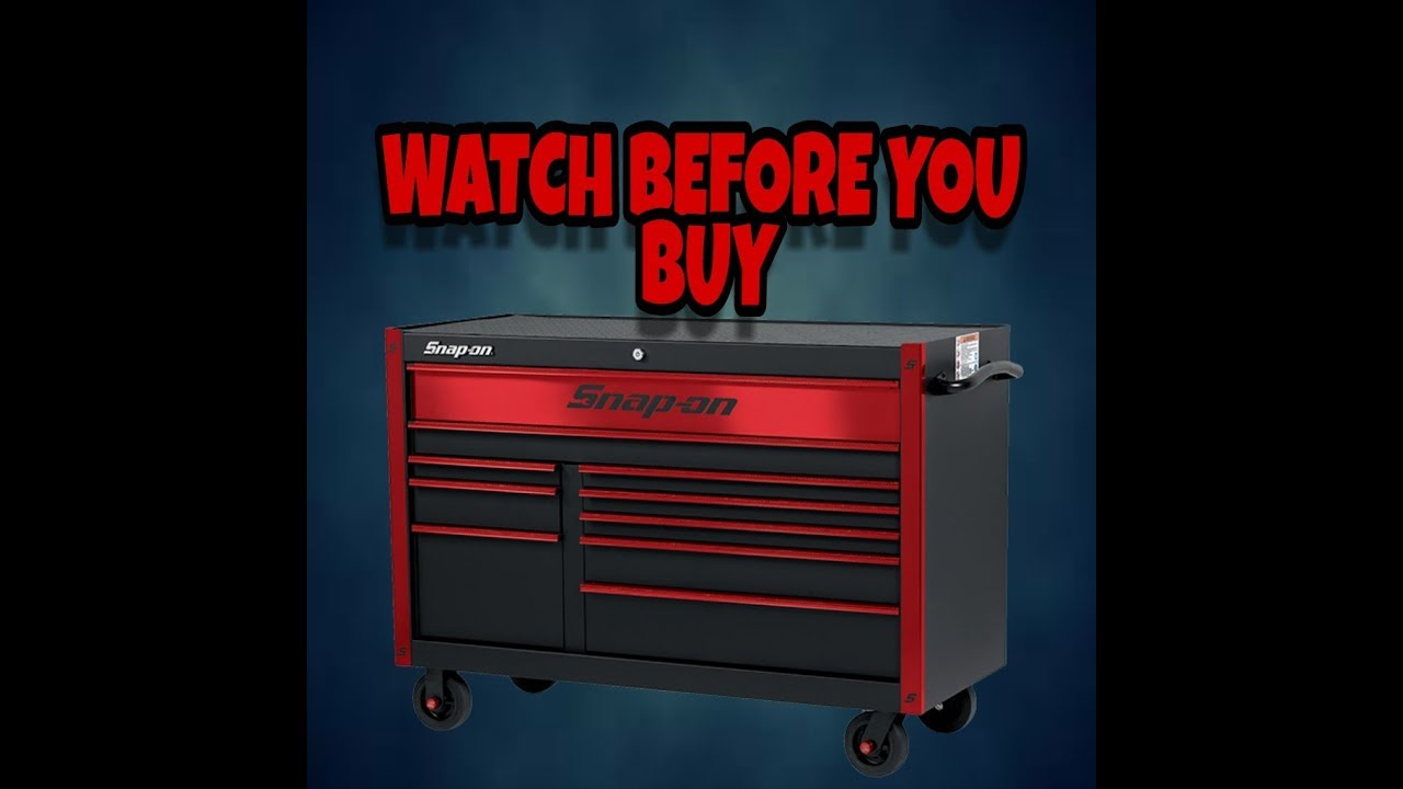 hight resolution of why you should not buy a snap on toolbox