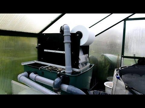 Modern Koi Blog #2370 - Ein selbstgebauter Minipapierfilter