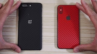 OnePlus 5T vs iPhone X - Speed Test! Which is Faster?