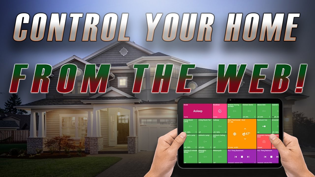 ActionTiles: Control your home from any browser!