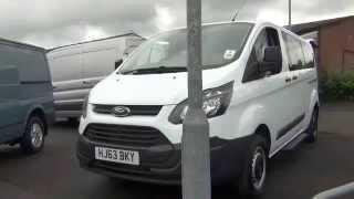 Foray Vans - 2013 Ford Transit Custom Tourneo Mini Bus