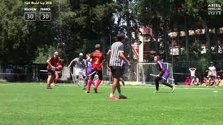 IQA World Cup 2018 Quarterfinal: Belgium vs France