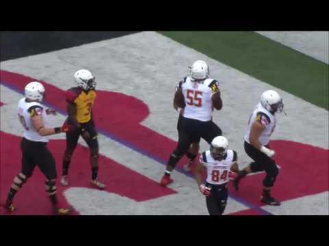 Lorenzo Harrison 56-Yard Touchdown - Maryland Spring Football