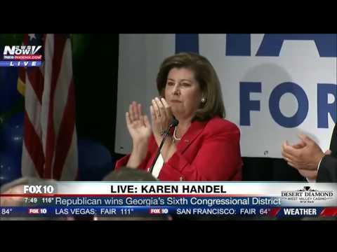 SPEECH: Republican Karen Handel Defeats Wins Georgia's 6th Congressional District (FNN)