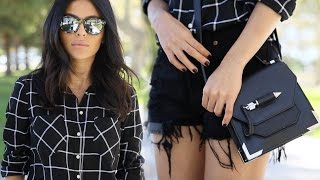 Plaid Party! How To Wear Plaid Part I | Fashion, Outfit Ideas, + Styling Tips | Teni Panosian