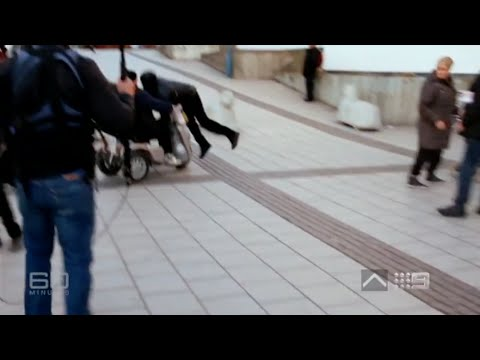 Mobility Scooter vs Violent Migrant in Rinkeby, Sweden