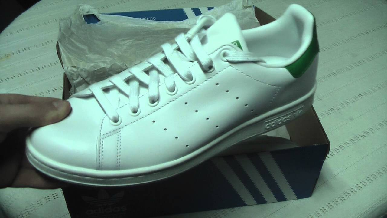 b06ec7315d5 adidas stan smith unboxing