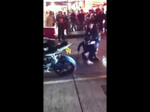 Ironshirt application in street fight