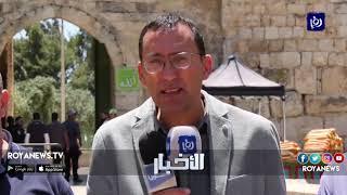 الاحتلال يحرم مقدسيين من أداء صلواتهم في المسجد الأقصى المبارك (4-5-2019)