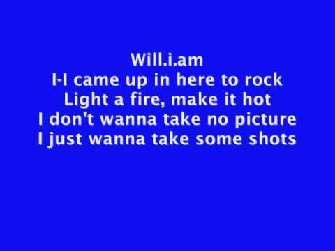 The Time (Dirty bit) - The Black Eyed Peas - Lyrics
