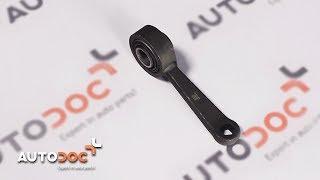 Jak wymienić łącznik stabilizatora przedniego w MERCEDES-BENZ E W211 TUTORIAL | AUTODOC