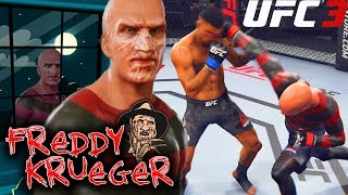 EA UFC 3: Freddy Krueger's Hands Will Give You Nightmares! EA Sports UFC 3 Gameplay