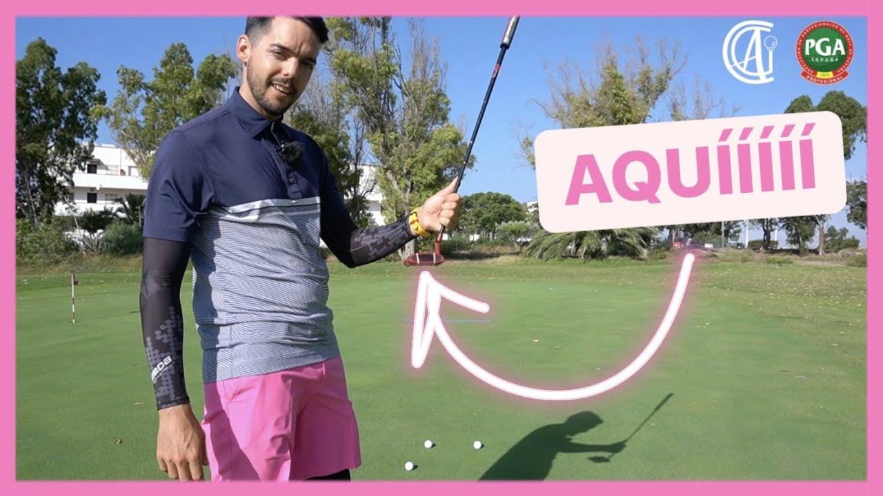✅ Golpea SIEMPRE con el CENTRO del PUTTER⎪Ejercicios para MEJORAR el putt en golf