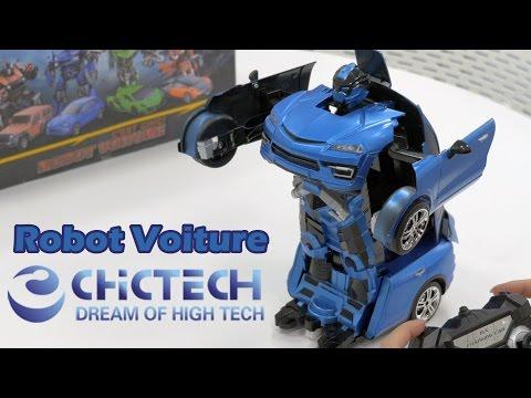 Français Youtube Jouet Démo Chictech Voiture Robot En qpLVjUMSzG