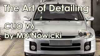 the art of detailing clio v6 by mx nowicki