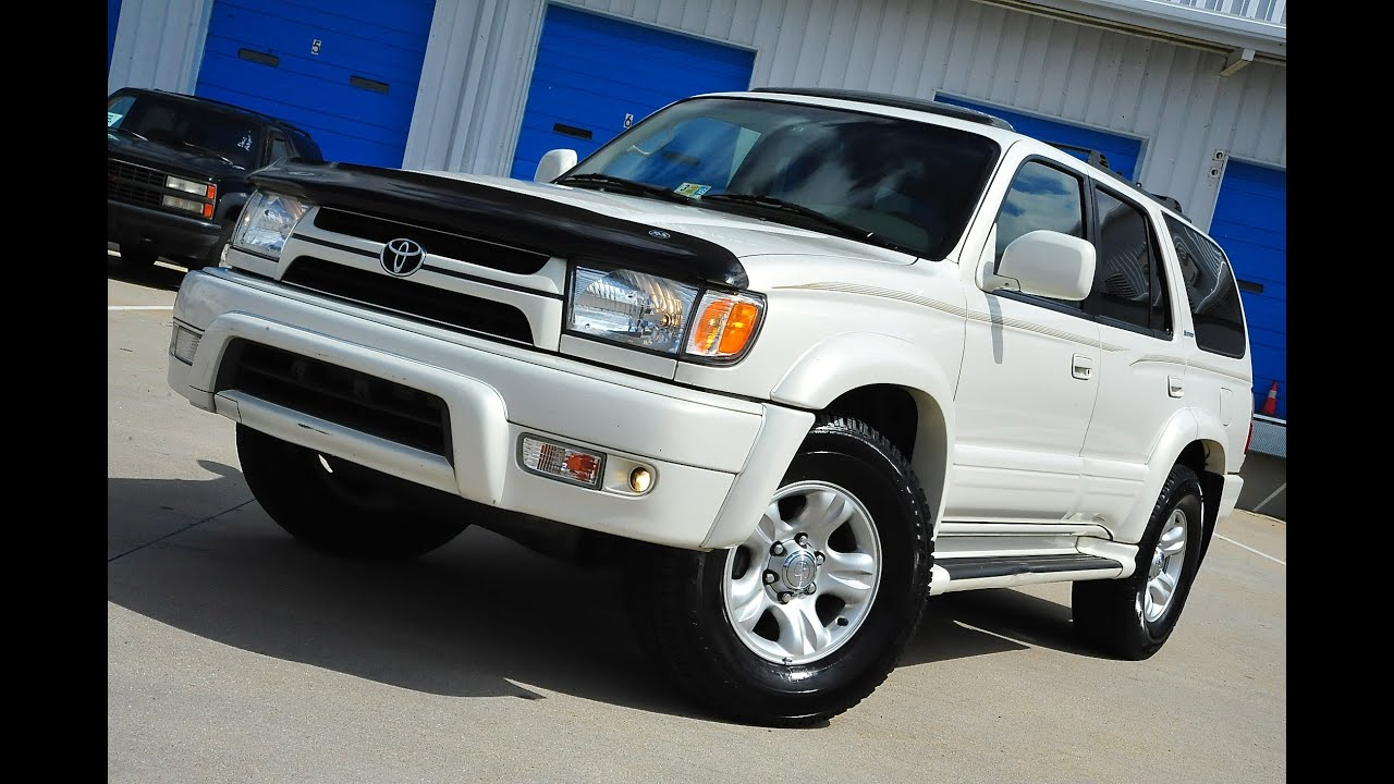 Toyota 4runner Limited For Sale >> Davis AutoSports 2002 Toyota 4Runner Limited Rare Pearl For Sale - YouTube
