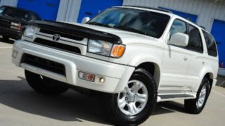 Davis AutoSports 2002 Toyota 4Runner Limited Rare Pearl For Sale