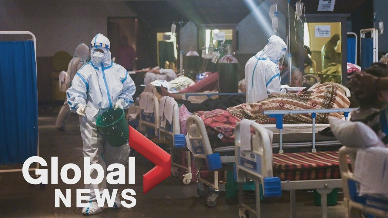 World leaders ban travel from India, where pandemic toll is devastating hospitals