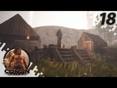 CONAN EXILES: THE FROZEN NORTH - Getting Organized! - EP18