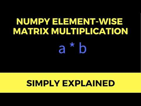 NumPy *] A Simple Guide to Element-wise Multiplication | Finxter