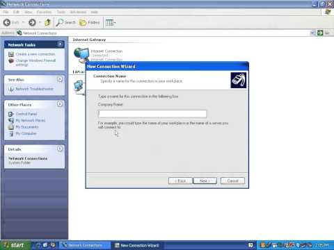 How To Setup VPN On Windows XP