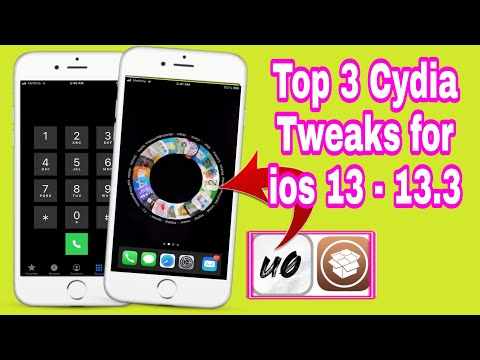 Top 3 cydia tweaks for iOS 13 - 13.3 - all iDevices