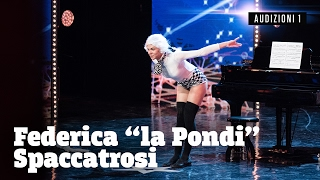 Federica, twerking su Mozart