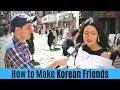 - How to Make Korean Friends in Korea | Korean Interviews