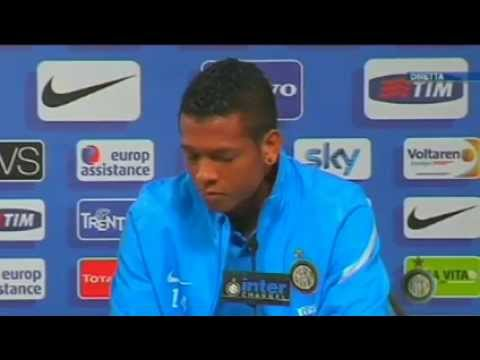 Conferenza stampa Fredy Guarin 5/4/2012 h.13:30 CEST