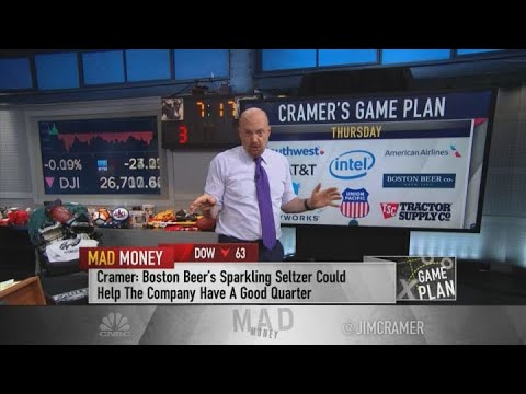 Jim Cramer Earnings Watch: AT&T, Union Pacific, Twitter, Southwest, American Airlines And More