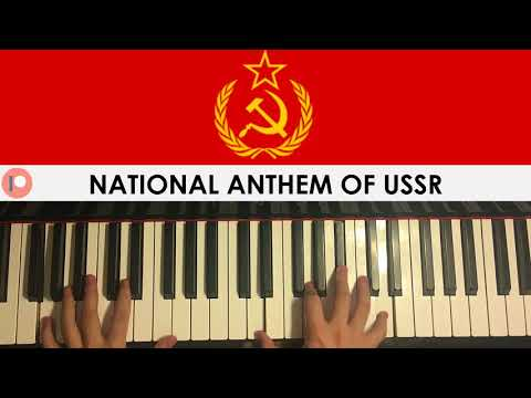 National Anthem of USSR (Piano Cover) | Patreon Dedication #240