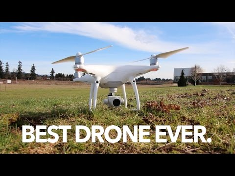 DJI PHANTOM 4 PRO - BEST DRONE EVER