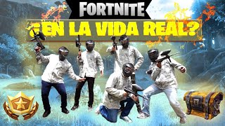 Fortnite in real life? Playing Paintball with YIRS, Mr Man and The Geeks