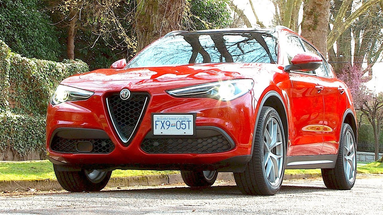 Alfa Romeo Stelvio Review The Suv For The S Curves Youtube