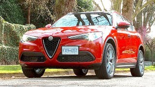 Alfa Romeo Stelvio Review--THE SUV FOR THE S-CURVES