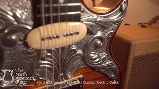 Spalt Instruments 624 Burst Custom Electric Guitar Mahogany / Flamed Maple