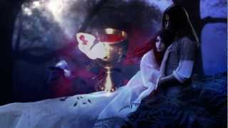 Draconian - She Dies - Lyrics video with gothic images
