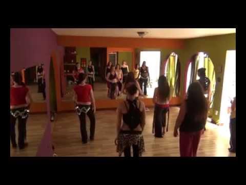 Belly Dance Costa Rica Academia Aidah Manaar - Mini Coreografia - Jeet B'waqtak