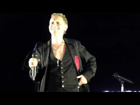 Depeche Mode - Strangelove - Martin L Gore - Hannover 12.06.2017 - Front of Stage - HD