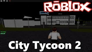 ROBLOX - I Build My Air Base - CITY TYCOON 2